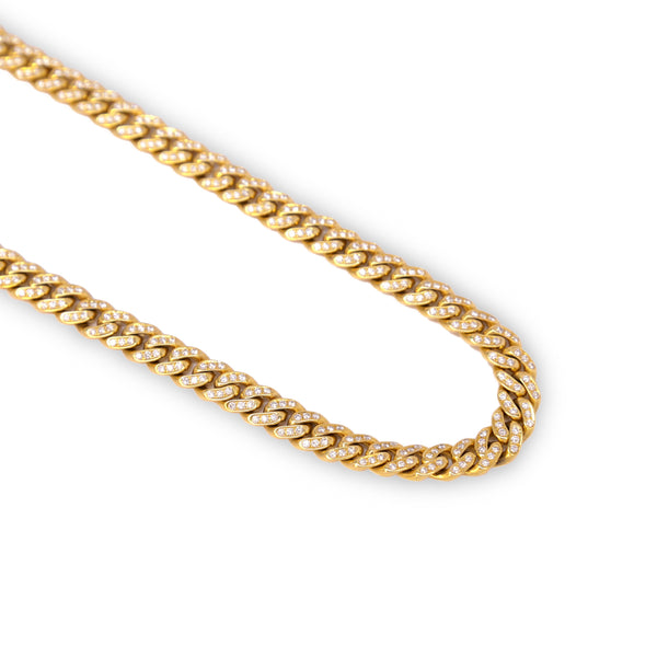 Fenom 9mm Diamond Cuban Chain - Fenom & Co.