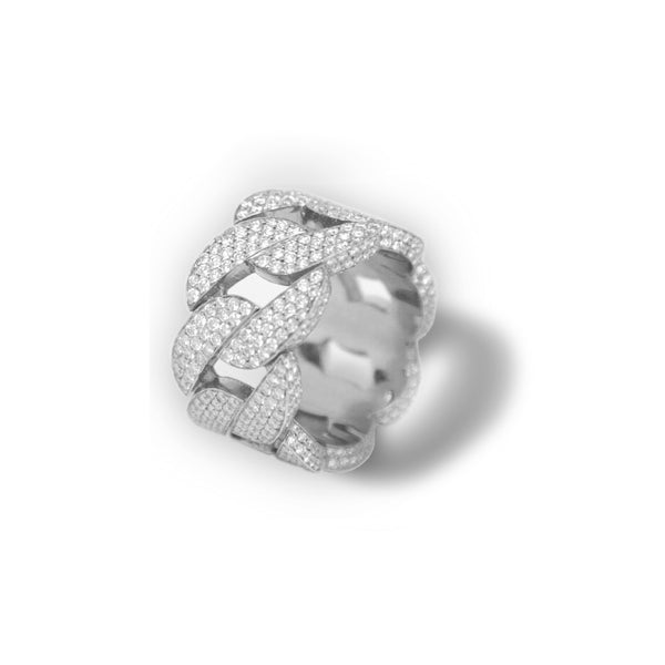 Fenom Diamond Cuban Ring (Fully Iced) - Fenom & Co.