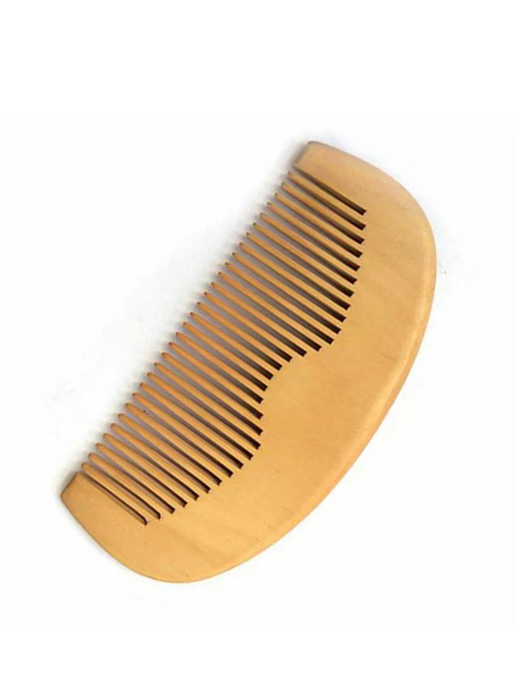 Natural Wood Beard Comb