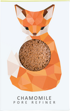 Load image into Gallery viewer, KONJAC MINI PORE REFINER WOODLAND FOX WITH CHAMOMILE
