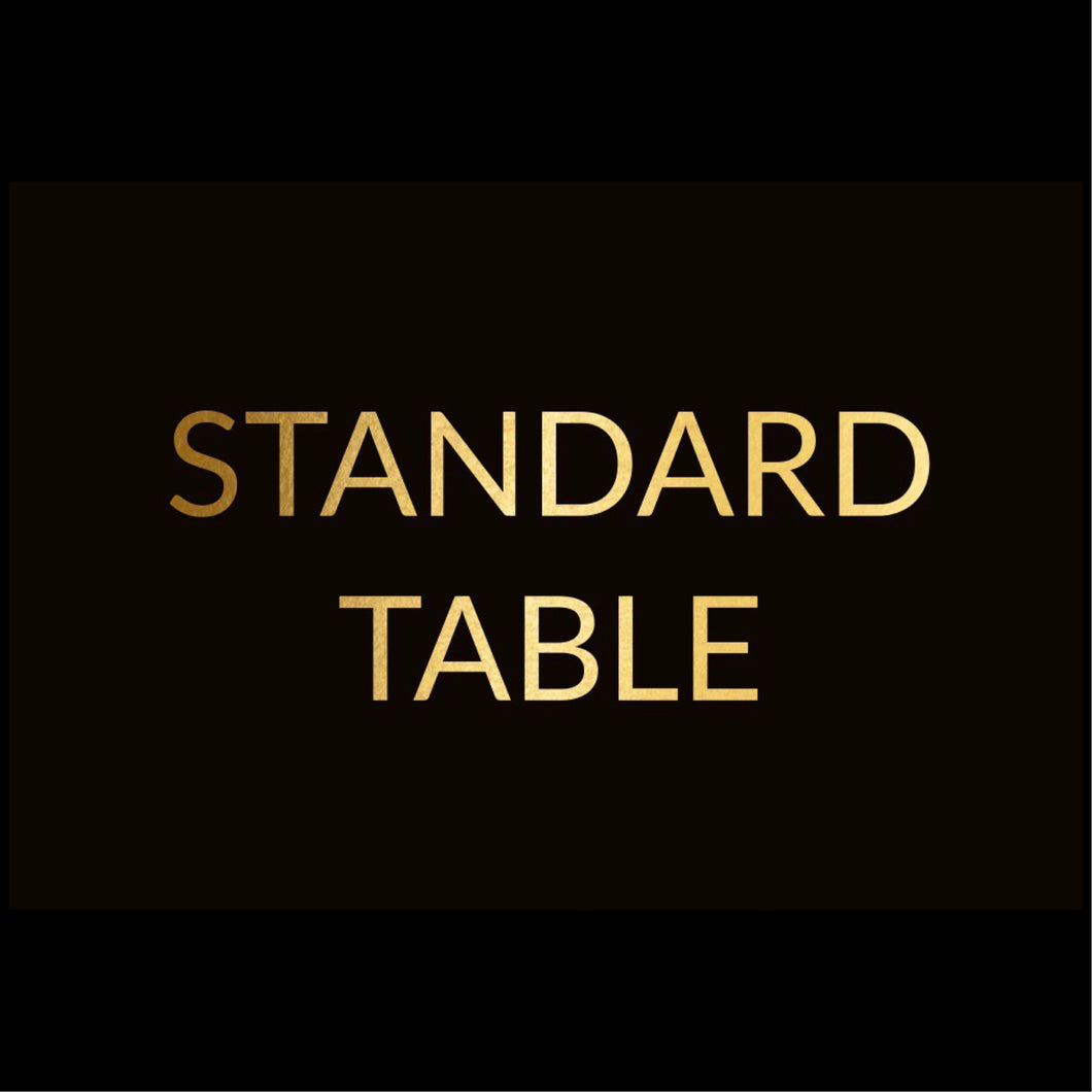 Standard Table of 10 Package