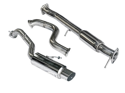 TSUDO 2013 + FORD FIESTA ST 1.6 TURBO SINGLE EXIT S2 CAT BACK EXHAUST