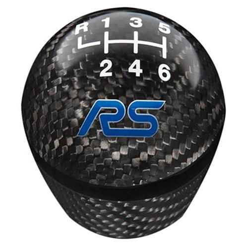 Ford Racing Focus RS Black Carbon Fiber Shift Knob 6 Speed
