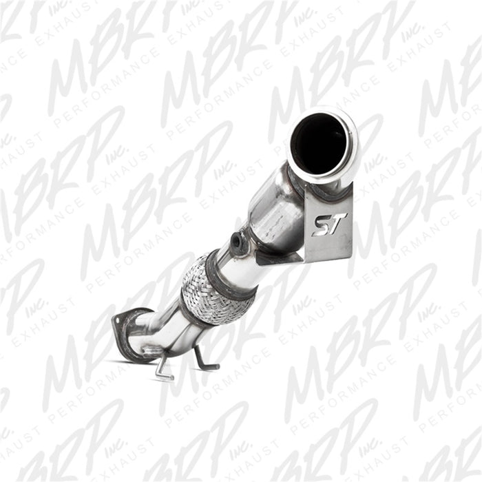MBRP 13-14 Ford Focus ST 2.0L Ecoboost 3in Down Pipe w- Cat