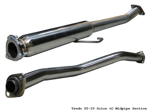 Tsudo 2004-10 Scion tC catless Midpipe Section v2,Tsudo