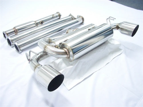 Tsudo Mitsubishi Evolution X 08-14 Test pipe back Exhaust System,Tsudo
