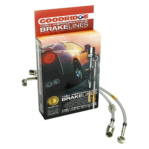 Goodridge 15-16 Ford Focus RS (RS MK3 Only) SS Brake Lines