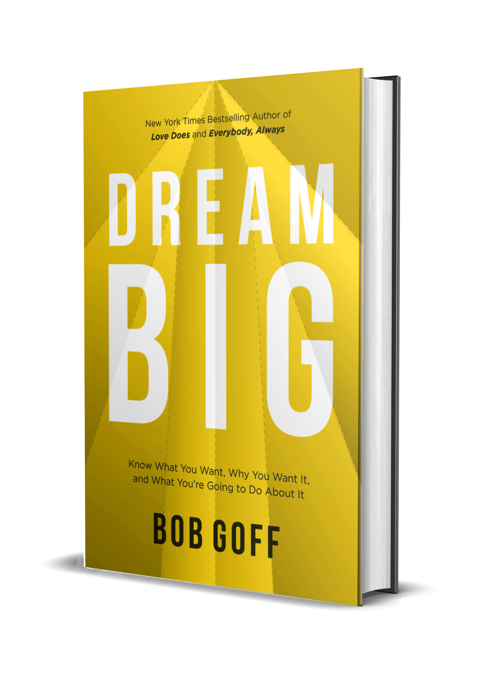 Signed Hardcover of Dream Big