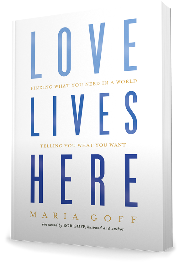 Love Lives Here: Softcover, Signed
