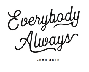 "*Pre-Order* Black ""Everybody Always"" T-Shirt"