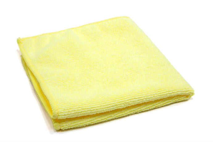 Microfiber towel (yellow)