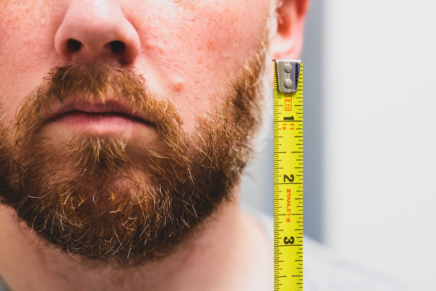 beard growth stages for men
