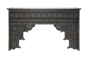 SAVANAH | Carved Black Console