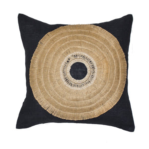 AFRICAN BLACK SHIELD CUSHION