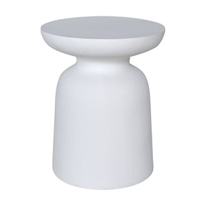 AKONI SIDE TABLE - WHITE