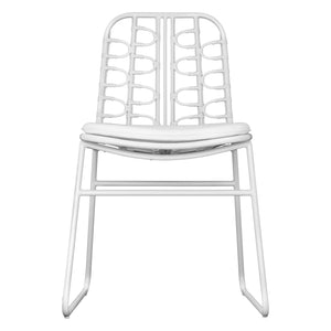 Amanzi Dining Chair | White