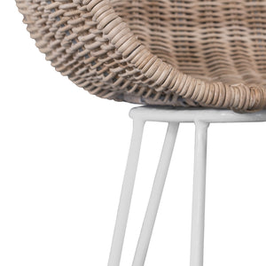 ANGOLA BAR CHAIR | NATURAL