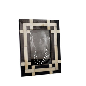 ASHANTI BONE PHOTO FRAME - 4 x 6