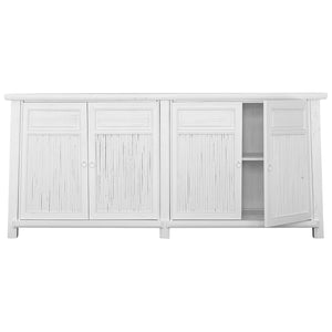 BAMBOO BUFFET | WHITE