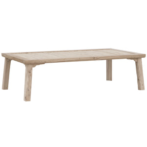 BAMBOO COFFEE TABLE | BLONDE