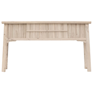BAMBOO | Blonde Console Table