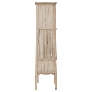 BAMBOO TALL CABINET | BLONDE