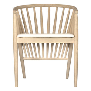 BELIZE DINING CHAIR | NATURAL