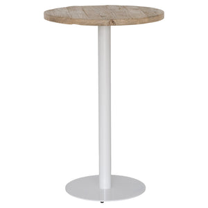 Brunswick Bar Table | White