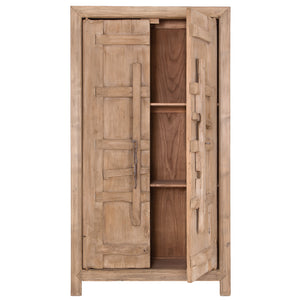 BULU | Natural Tall Cabinet