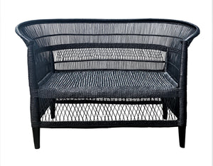 MALAWI DOUBLE SEAT BLACK