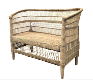 MALAWI DOUBLE SEAT NATURAL