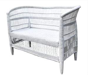 MALAWI DOUBLE SEAT WHITE