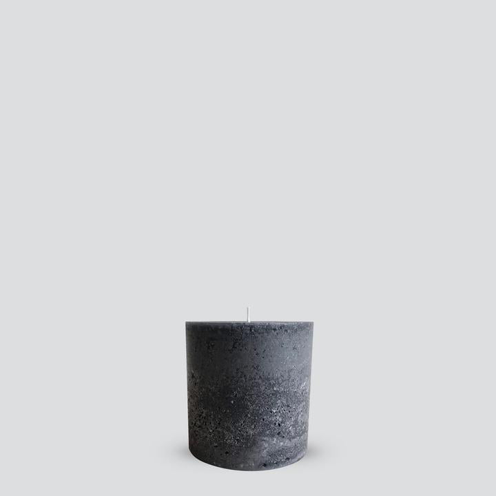 TEXTURED PILLAR CANDLE - SML