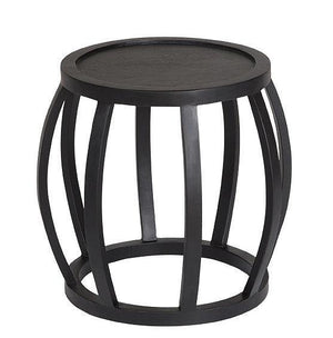 CRABO SIDE TABLE - BLACK FRENCH OAK - UNIQWA FURNITURE