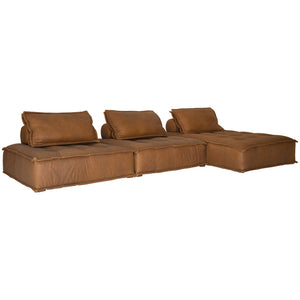 Collins Sofa | Chaise | Leather