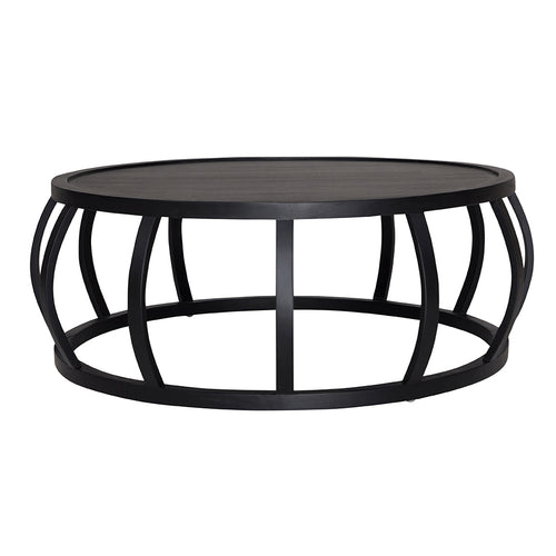 CRABO COFFEE TABLE - BLACK FRENCH OAK