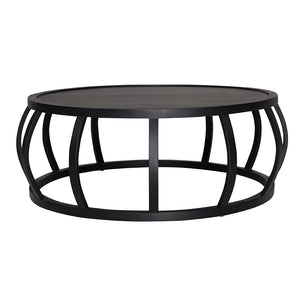 CRABO COFFEE TABLE - BLACK EUROPEAN OAK