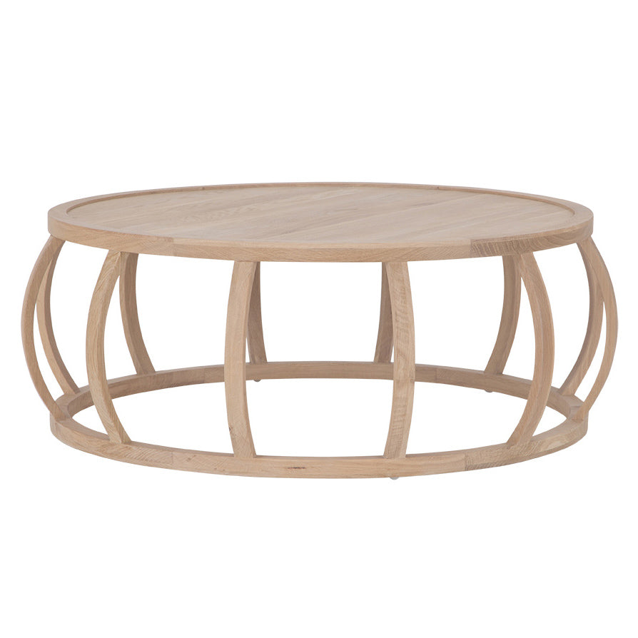 CRABO COFFEE TABLE - NATURAL FRENCH OAK