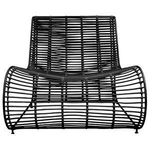 CUBA OCCASIONAL CHAIR - BLACK