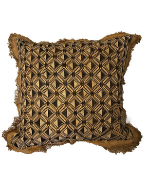 AUTHENTIC FRINGED SHOWA CUSHION