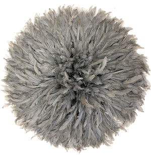 JUJU HEADDRESS GREY