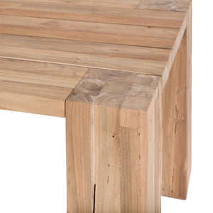 HAMALI BLOCK DINING TABLE | 275cm