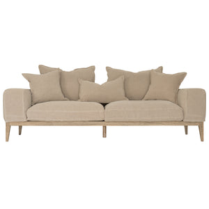 Jagger Sofa | Three Seater | Earth