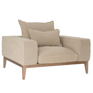 Jagger Sofa | One Seater | Earth
