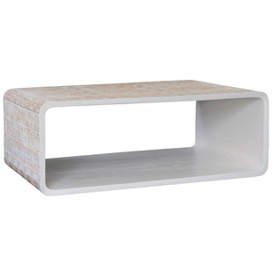 Kuto Coffee Table | White
