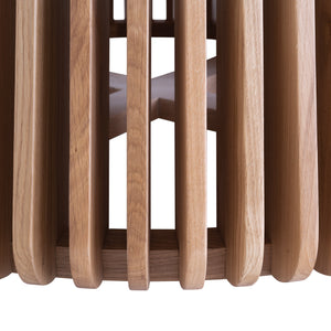 LINDI OAK DINING TABLES | NATURAL