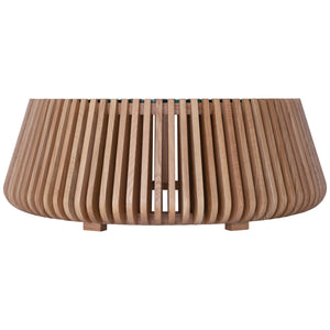 LINDI COFFEE TABLE LOW | OAK