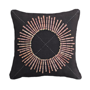 TRIBAL ROUND SHIELD CUSHION