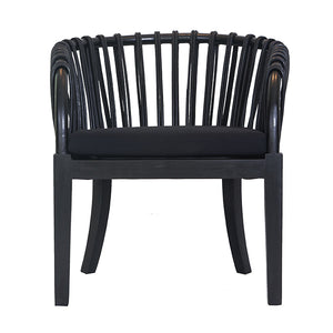 MALAWI TUB CHAIR | BLACK