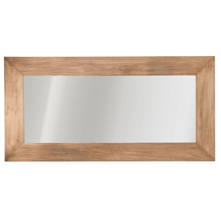 NATURAL WEATHERED TEAK MIRROR